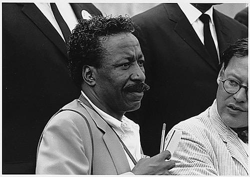 Gordon Parks at the 1963 March on Washington